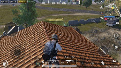 和平精英怎么上屋顶6