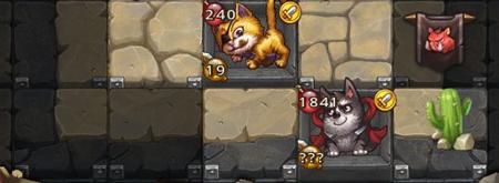 不思议迷宫猫狗组合