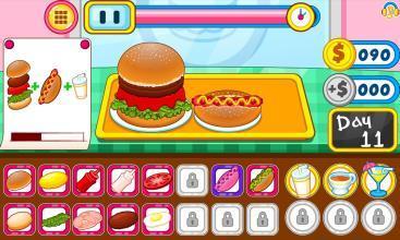小小漢堡快餐店1