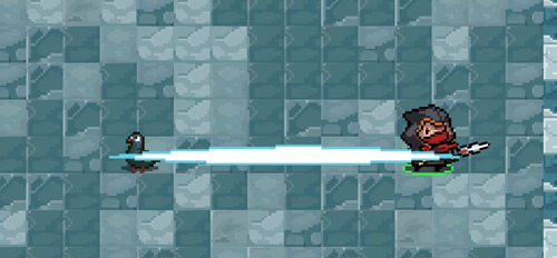 游侠-居合斩?#21512;?#25932;人突进一段距离并攻击沿途的敌人