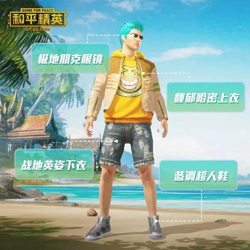 和平精英SS2赛季夏季时装推荐1
