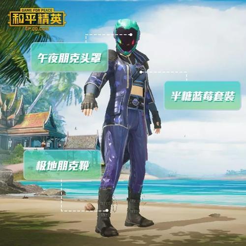和平精英SS2赛季夏季时装推荐2