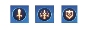 《银之守墓人》手游三类职业图标