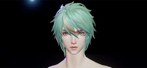 龙族幻想捏脸数据男ID3