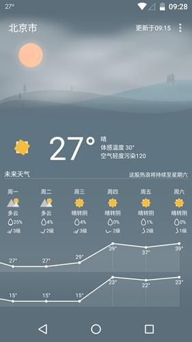 Holi天气app截图4