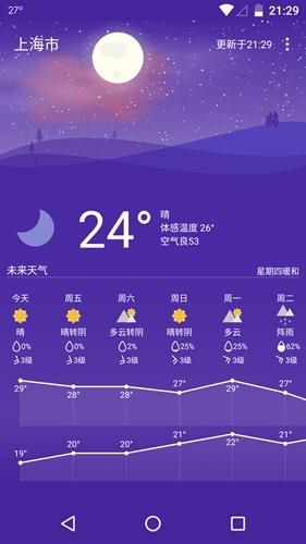 Holi天气app截图3