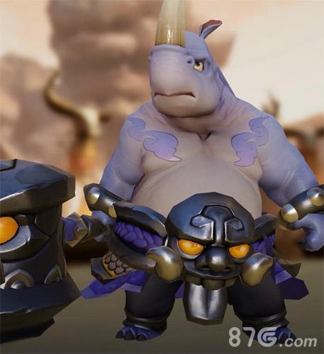 梦幻西游三维版犀牛将军图片