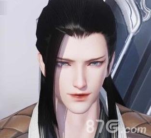 一梦江湖手游太阴成男捏脸图片2