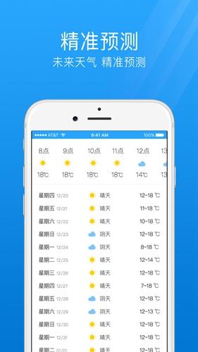 7日天氣預報app截圖3