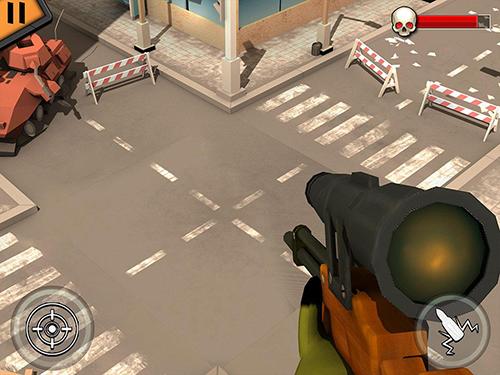 火柴人射手:現代戰士截圖2