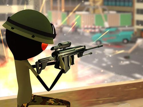 火柴人射手:現代戰士截圖1