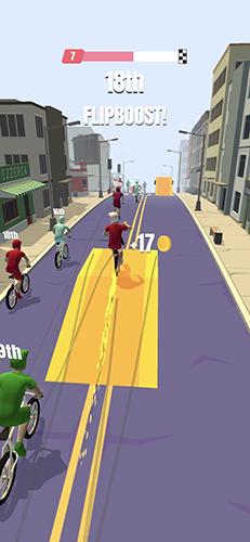 自行车冲刺截图3