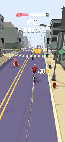 自行车冲刺截图1