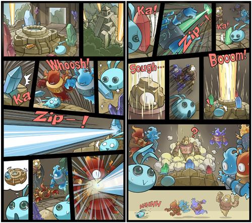 不思议迷宫漫画内容2