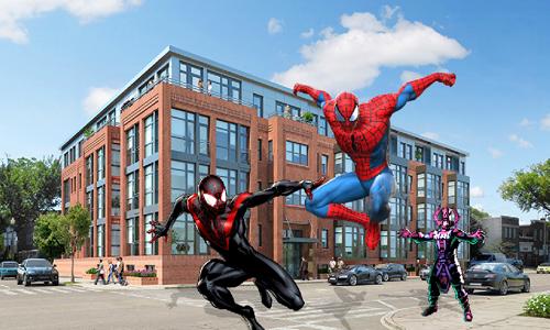 蜘蛛侠:保卫城市截图1