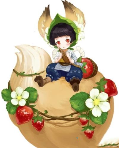阴阳师莓果之夏皮肤1