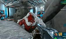 方舟生存进化地牢大猩猩无伤教程 卡点击杀BOSS视频