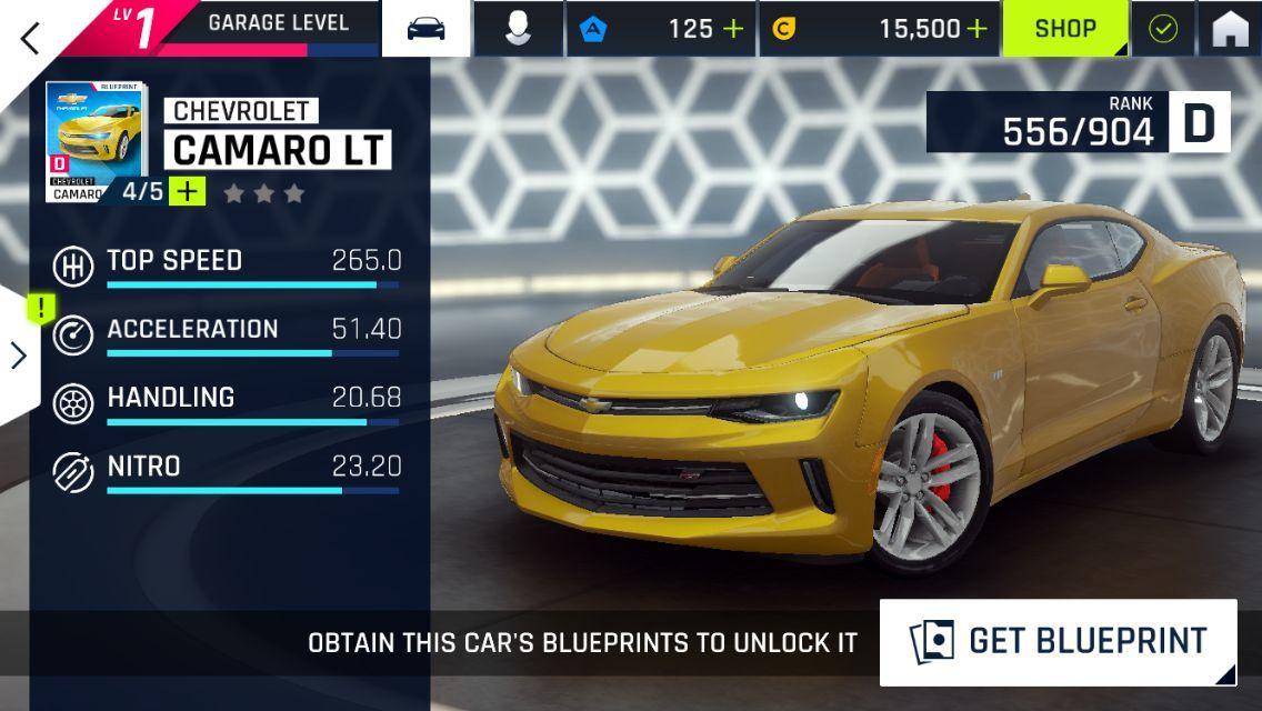狂野飙车9雪佛兰Camaro LT图片