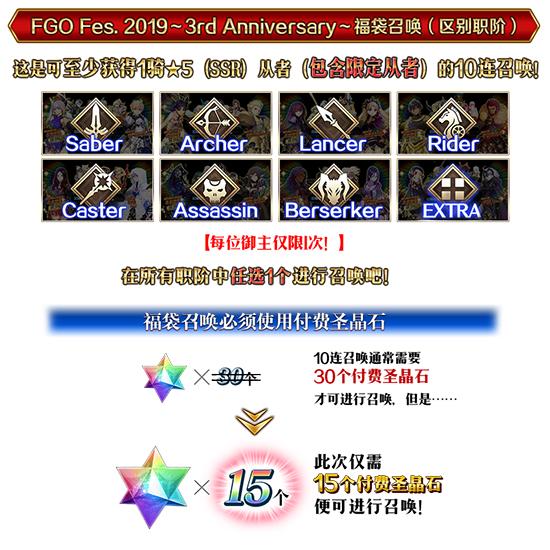 FGO三周年福袋25