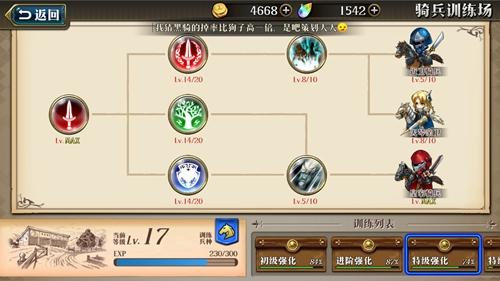 梦幻模拟战手游骑兵科技加点推荐