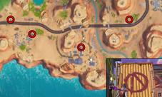 堡垒之夜密藏标志在哪里 搜索3个不同的标志攻略