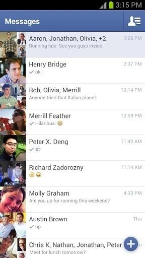 Messenger安卓版截图1