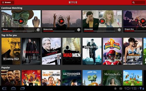在线电影租赁Netflix安卓版截图4