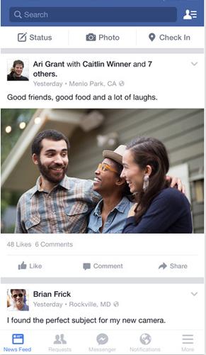 臉書app安卓版截圖2