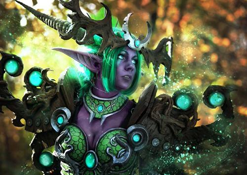 炉石传说绿龙女王伊瑟拉COS
