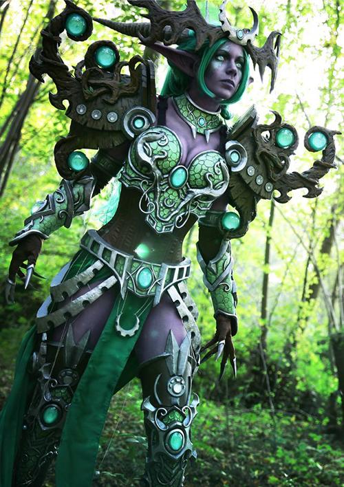 炉石传说绿龙女王伊瑟拉COS2