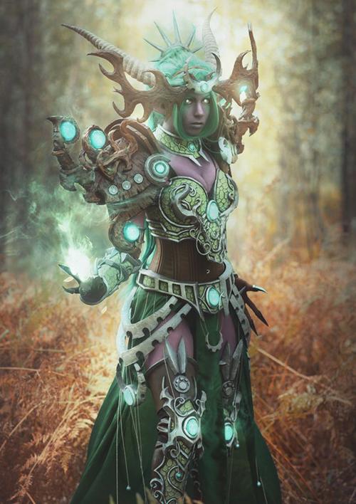 炉石传说绿龙女王伊瑟拉COS3