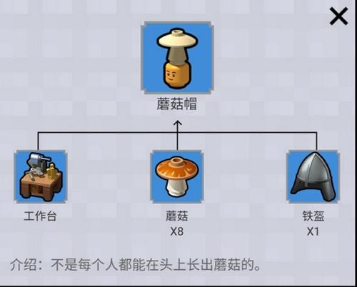 乐高无限蘑菇帽图鉴