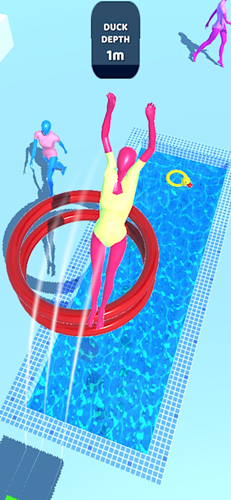 紫色跳水员截图1