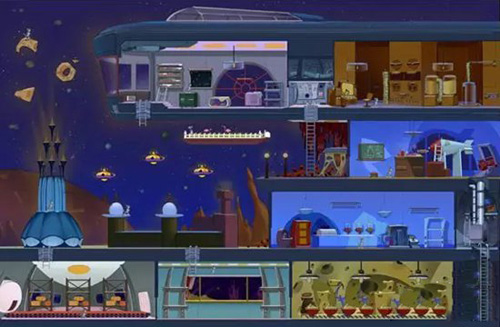 猫和老鼠手游太空堡垒怎么解锁