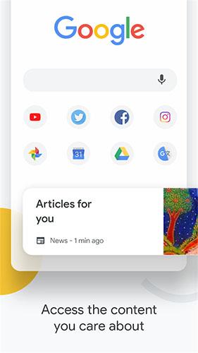 谷歌瀏覽器手機版截圖3