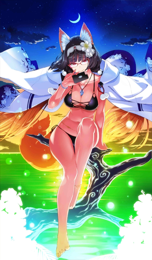 FGO狐狸女士礼装原画
