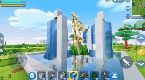 乐高无限多水柱喷泉制作方法