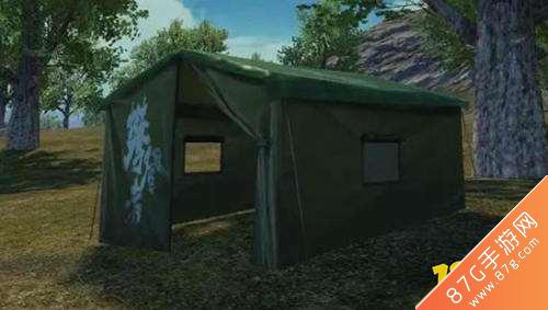 和平精英攀登者帳篷1