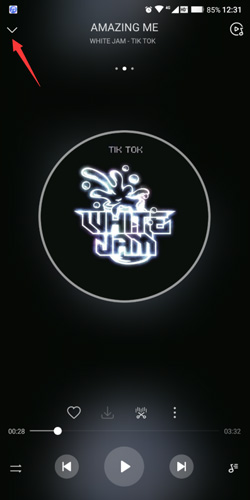 华为音乐app播放格式怎么关闭