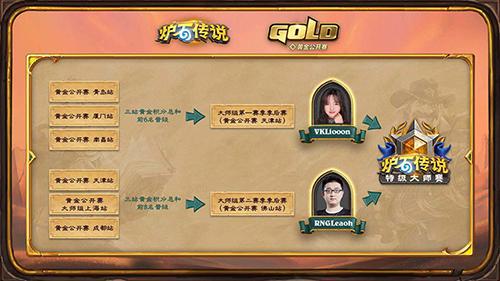 炉石传说黄金公开赛晋级