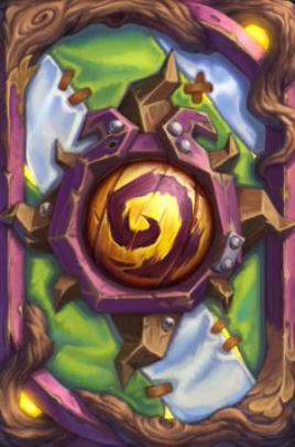炉石传说暗月马戏团卡背