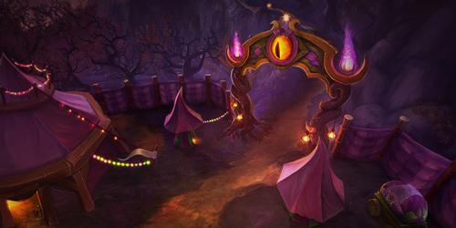 炉石传说十月赛季卡背
