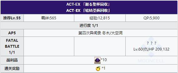 FGOFZ复刻ACT-EX主线正本