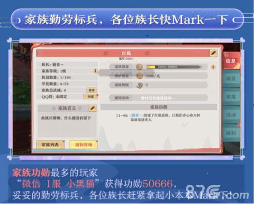 《狐妖小红娘》手游终测 趣味数据大盘点7