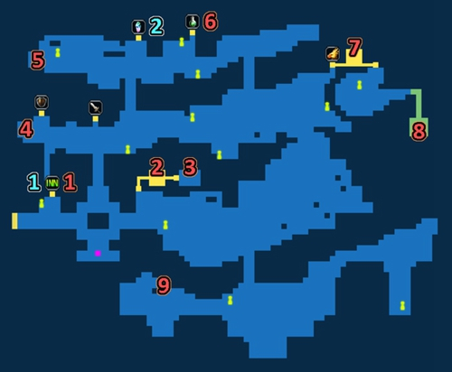 最终幻想勇气启示录米特拉镇探索任务地图资源一览