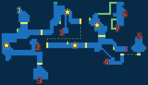 最终幻想勇气启示录拉格尔斯坑道探索任务地图一览