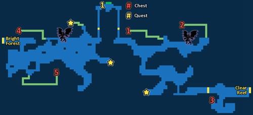 最终幻想勇气启示录静谧溪流探索地图