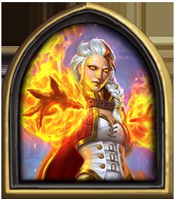 爐石傳說火法師吉安娜