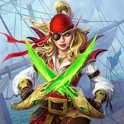爐石傳說瓦莉拉船長頭像