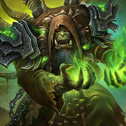 爐石傳說暗影之王古爾丹頭像